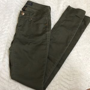Tinsel Green Jeans